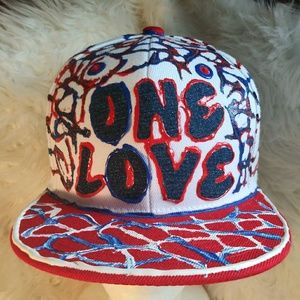 Other - Custom Designer One Love Snapback